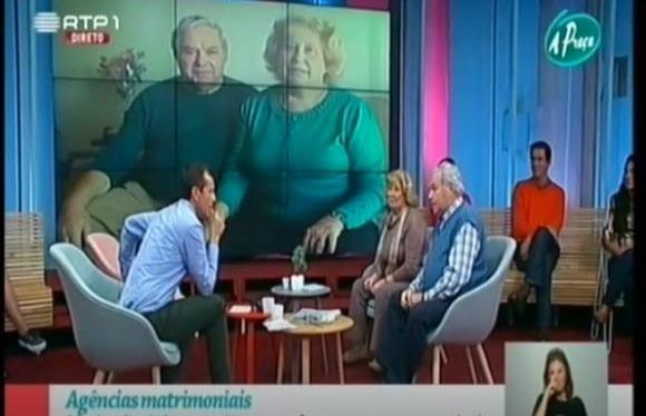 RTP1 | A Praça - Testemunho de Casal junto pela Amore Nostrum